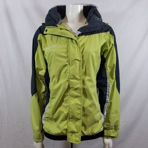 Columbia core hooded mid weight jacket sz M